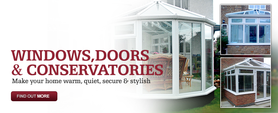 Windows, doors and Conservatories improvements
